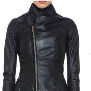 Rick Owens Ladies 6 Princess Leather Biker Jacket